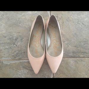 Sam Edelman Blush Soft Pink Rae Flats